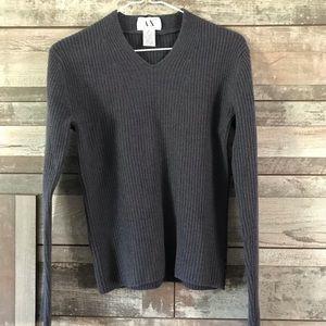 A/X Armani Exchange lambswool sweater women's M